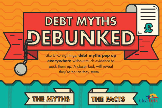 ClearDebt - Debt myths debunked header