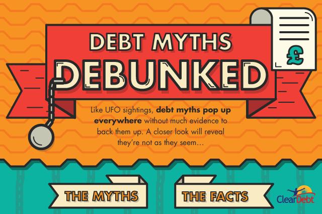 ClearDebt - Debt myths debunked header