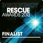 I&R Awards - Finalist 2013 - ClearDebt