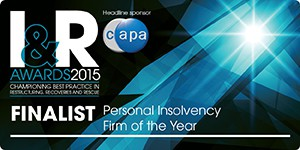 I&R Awards - Personal Insolvency Firm of the Year Finalist - ClearDebt