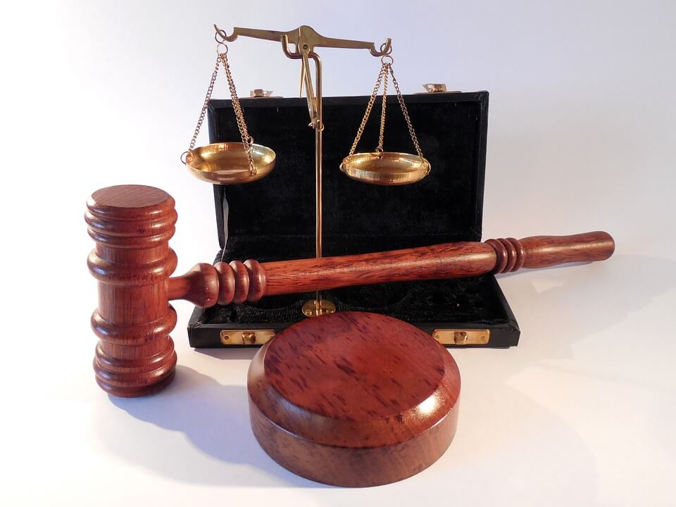 An image to show how CCJs are dealt with in a court of law