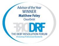 DRF Advisor of the Year 2011 - Matt Foley ClearDebt