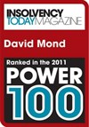 Insolvency Today Power 100 2011 - David Mond ClearDebt
